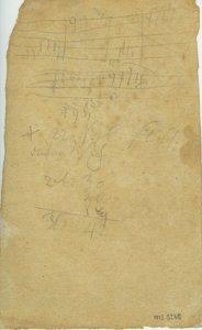 Ludwig van Beethoven: Sketches | MS 5268  (1)