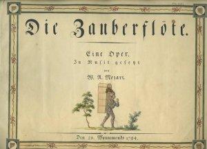 Mozart: Die Zauberflöte | MS 5481 (1)