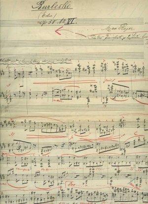 Reger: Burleske Opus 58/6  | MS 5547