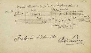 Smetana: The Devil's Wall| MS 5564