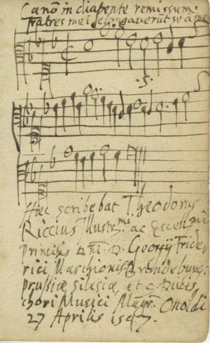 Riccius Canon In Diapante Remissum | MS 5529