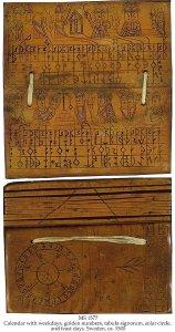 Ivory Book Calendar | MS 1577