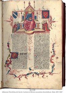 Johannes de Imola Decretals Commentary | MS 5100