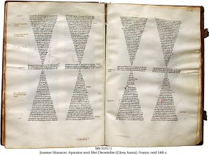 Johannes Monacus: Glossa Aurea (1)