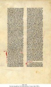 Flavius Josephus De bello Judaico | MS 1561