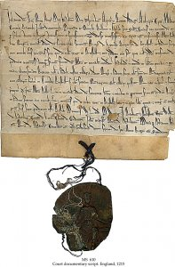 Letter Patent from King John to Beaulieu Abbey   MS 610