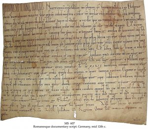 Abbey of St Mary, Trier, Land Grant | MS 607