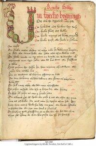 Law Code in Swedish | MS 1585