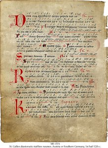Missal: Dastematic Neumes | MS 1574