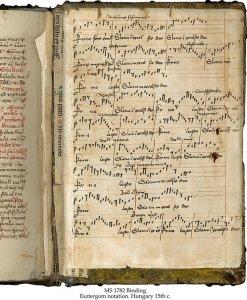 Esztergom Notation Missal | MS 1782 (1)