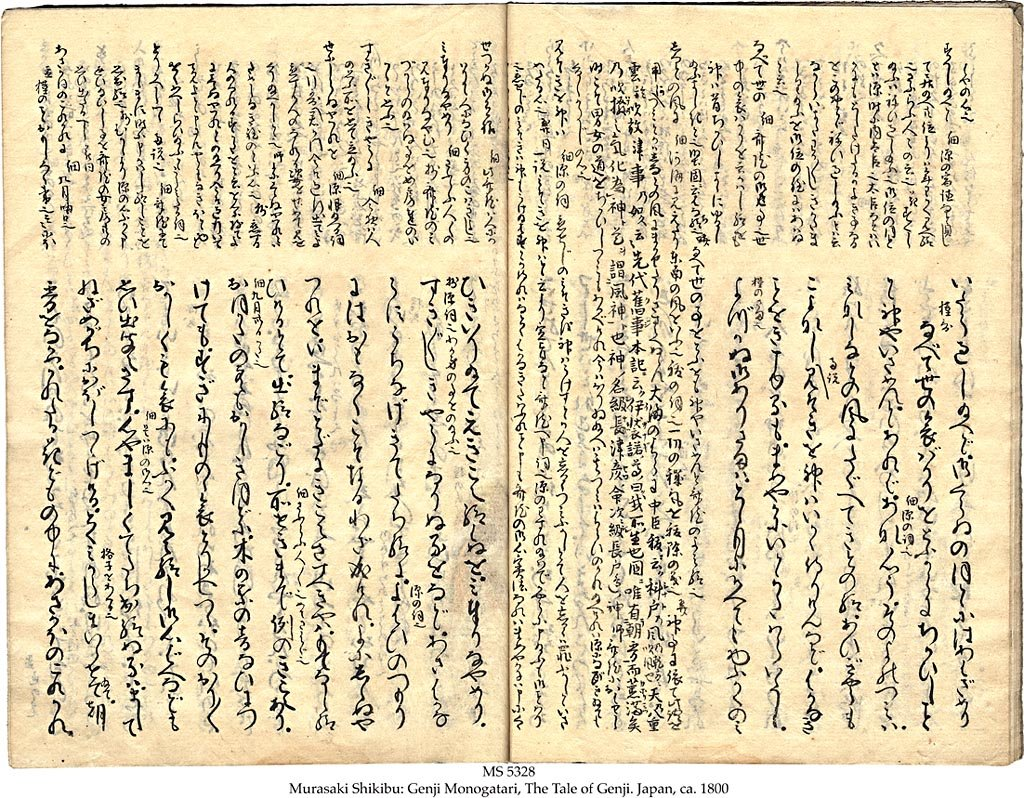The tale of genji papers