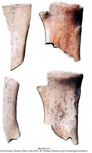 ORACLE BONE | MS 2103