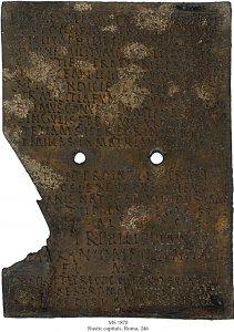 Praetorian Duploma | MS 1870