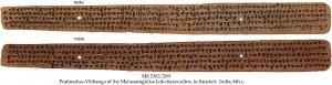 PRATIMOKSA-VIBHANGA OF THE MAHASAMGHIKA-LOKOTTARAVADINS | MS 2382/269