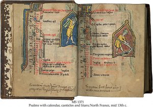 Psalms with Calendar, Canticles & Litany | MS 1371