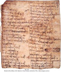 Rare Leaf from Tour Scriptorium | MS 570