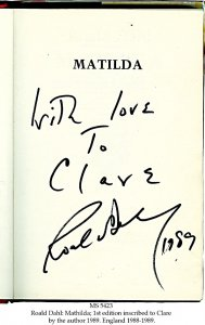 ROALD DAHL: MATHILDA | MS 5423