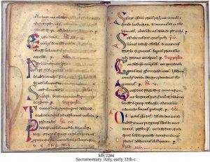 Sacramentary | MS 2204