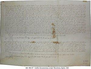 Sale of Tartar Slave Magdalena   MS 590-57