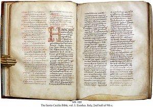 Santa Cecilia Bible Vol 1 | MS 020