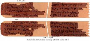 SARIPUTRA-ABHIDARMA, SECTION IV, CHAPTER IV | MS 2375/08