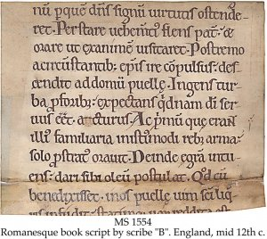 Scribe B: Sulpitus Severus | MS 1554