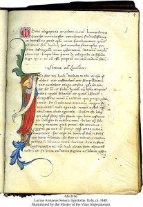 Lucius Annaeus Seneca Epistolae | MS 2106 (1)