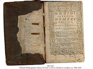 Shakespeare Henry IV | MS 1627 (1)