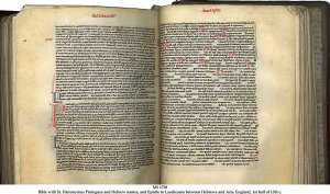 Single Column Latin Bible (England) | MS 1738