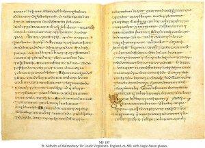 St Adhelm: De Laude Virginitatis | MS 197