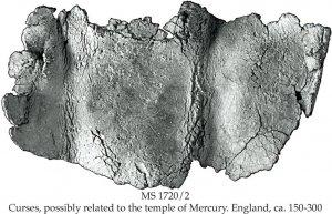 Tarlton Hoard Curses | MS 1720/2