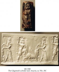 The Gilgamesh Cylinder Seal | MS 1989