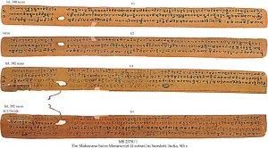 THE MAHAYANA SUTRA MANUSCRIPT   MS 2378/1